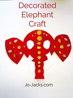 lotus flowers and elephants crafts for kids