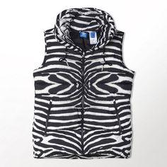 Adidas Original Women's Zebra Vest  #adidas #Vest