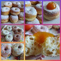 Kovászos szalagos fánk | Betty hobbi konyhája Doughnut, Food And Drink