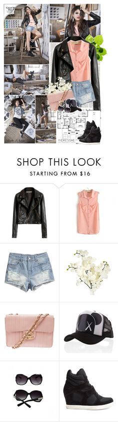 """""""Selena Gomez for Adidas NEO"""" by anitadanako ❤ liked on Polyvore featuring H&M, Chanel and Ash"""