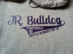 Jr bulldogs