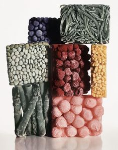 """Still life, frozen food"", photo by American photographer IRVING PENN Irving Penn, Still Life Photography, Food Photography, Happy Photography, Product Photography, Beauty Photography, Fashion Photography, Fashion Fotografie, Frozen Vegetables"