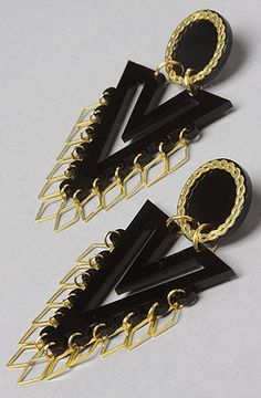 nice Melody Ehsani The Forget M.E. Not Vendetta Earring in Black,Jewelry for Women