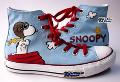 "Charlie Brown's ""Snoopy"" shoes"