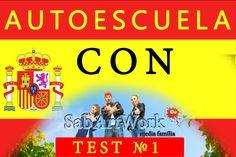 Autoescuela con SabArtWork Test 1 España