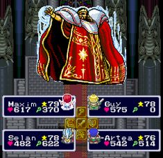 """The very beginning of Lufia 1 (SNES) plunges you into a """"final"""" battle!"""