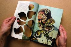 Inside a cut National Geographic / Intérieur d'un National Geographic découpé, Work in progress...