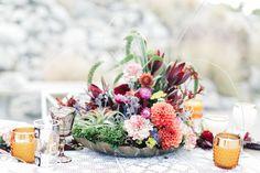 Bohemian wedding florals | Wedding & Party Ideas | 100 Layer Cake