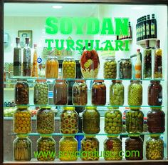 pickle store window..they actually have...pickle stores?
