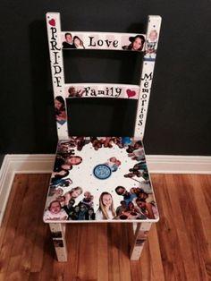 Custom Horah chair for a Bar Mitzvah or Bat Mitzvah. #barmitzvah #batmitzvah