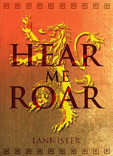 """Beautiful """"House Lannister """" metal poster created by Scar Design. Our Displate metal prints will make your walls awesome. Game Of Thrones Poster, Game Of Thrones Art, Gaming Posters, Cool Posters, Got Lannister, A Dream Of Spring, A Feast For Crows, Fantasy Tv Shows, The Winds Of Winter"""