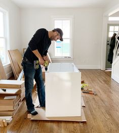 Now that we've installed 3 Ikea kitchens in the last year-ish, we're sharing tons of tips, tricks, and all the tools you'll need to do it yourself! Best Kitchen Sinks, Ikea Kitchen Remodel, Ikea Kitchen Design, Ikea Kitchen Cabinets, Kitchen Layout, Home Decor Kitchen, Kitchen Remodeling, Remodeling Ideas, Ikea Kitchen Diy