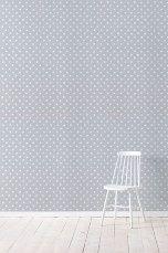 Wallpaper by ellos Christy-tapetti, lämmin harmaa Lämmin harmaa - Kuviolliset | Ellos Mobile