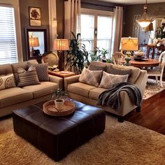 25 warm and cozy living room ideas - cozy living room colors,cozy living room id. 25 warm and cozy living room ideas – cozy living room colors,cozy living room ideas on a budget, Casual Living Rooms, Living Room Colors, Cozy Living Rooms, Home Living Room, Living Room Designs, Living Room Ottoman Ideas, Living Room And Kitchen Together, Large Living Room Furniture, Simple Living Room Decor