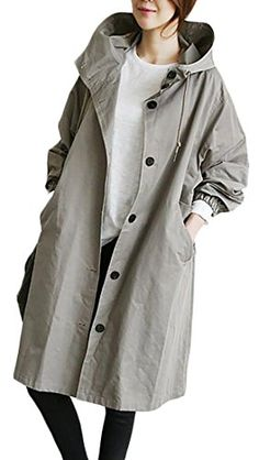 9924747d5d20 2017 Women Thin And Light Trench Spring Autumn Cloak Cardigan Korean Fashion  Windbreaker Palto Loose Hooded Overcoat Big Coat