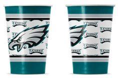 Philadelphia Eagles Disposable Paper Cups
