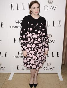 Lena Dunham ELLE Women in TV