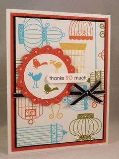 The Birds are Loose! by mandypandy - Cards and Paper Crafts at Splitcoaststampers