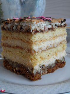 Food Cakes, Tiramisu, Cake Recipes, Cooking Recipes, Birthday Cake, Baking, Ethnic Recipes, Pastries, Drink
