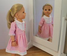 Petite robe L  vêtements de poupée à Gotz Hannah Gotz Happy