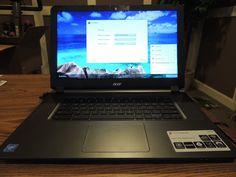 "Acer Granite Gray 15.6"" CB3-531-C4A5 Chromebook PC with Intel Celeron N2830 Dual"