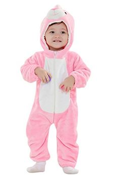 2c033bdb6a Yxjdress Unisex Pink Rabbit Baby Onesie Cosplay Pajamas Kids Kigurumi Onesie    Check this awesome product by going to the link at the image.