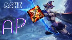 League Of Legends - AP Ashe Gameplay