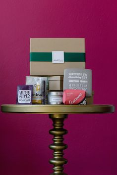 StudioWedBox - a monthly subscription box for brides.  A wedding planner in a box!