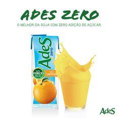 ADES ZERO - O melhor da soja com zero adição de açucar.