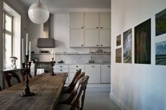 Kitchen + Dining image pinned from Thank You For Being Sophisticated   thankyouforbeingsophisticated.com  #architecture  #interior  #interiors  #home  #homes  #house  #houses  #design  #kitchen  #dining  #diningroom  #room