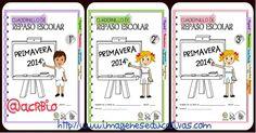 Cuadernillos multiactividades de repaso para vacaciones. Educación Primaria 1º- 2º – 3º.