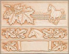 Leather tooling ideas horses