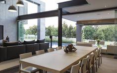 Salas de jantar modernas por Meulen Architects