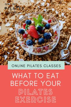 Eat your meals 2-3 hours before your Pilates workout. And if you're not able to do that because life is busy, here are some suggestions. #pilates #pilatesmeal #workoutmeal #fitnessmeal #healthymeals #mealsbeforeworkout #postworkoutmeal #postpilatesmeal #nutritionalmeal #healthyeating Clean Eating Recipes, Healthy Eating, Healthy Recipes, Meals Before Workout, Pilates Workout, Pilates Reformer, Fitness Diet, Health Fitness, Health And Wellness Coach