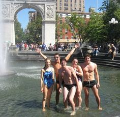 #dancing in the #fountain #Washington #Square #Park #NYC