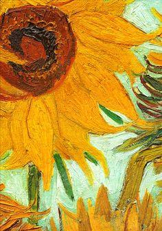 Van Gogh  Sunflowers 1888