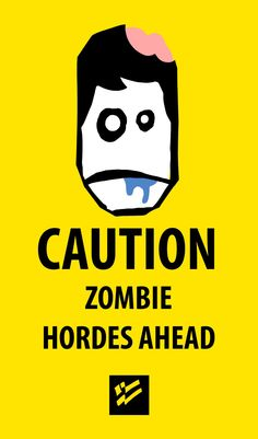 Zombie sign Just click the IMAGE to see more Zombie Signs on Sale