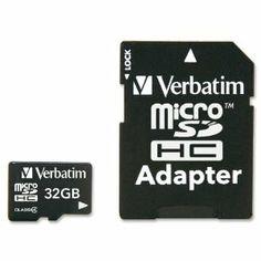 Verbatim Micro SDHC Classe 4 32GB 19,00€