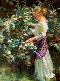 *Nana's Garden* ~ by Daniel Gerhartz  ♡