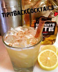 The Horizon ... Build in Cocktail shaker 2 oz Serpents Bite Apple Cider Whisky 1 1/2 oz Pineapple juice 1/2 oz Fresh Lemon Juice Garnish with ground cinnamon and cinnamon stick and Enjoy!