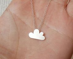 Cloud Necklace: because my heads always in the clouds!