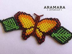 Huichol Art, Bangles, Bracelets, Beaded Flowers, Nativity, Butterfly, Gauche, Etsy, Beads
