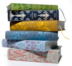 On October 27, Penguin is releasing a new classics collection, an assortment of beautiful cloth-bound books that are almost too pretty to read. Coralie Bic