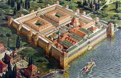Diocletian's Palace living history. Split, Croatia. Photo by passingthru.com