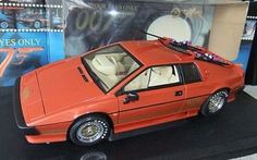 James Bond 007 1/18 Scale Autoart Lotus Esprit Turbo Diecast *very Rare*