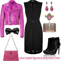 """Let's rock!"" by ana-isabel-figueira ❤ liked on Polyvore"