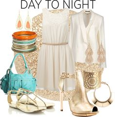 """Day to Night"" by janenemabbott ❤ liked on Polyvore"