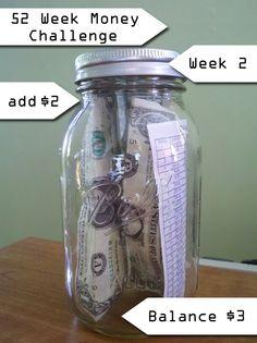 The Weekly Money Challenge – Week 2