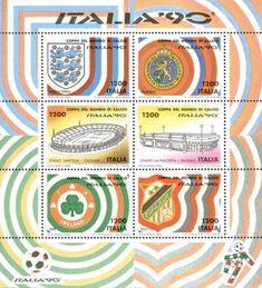 """1990 - Coppa del Mondo di Calcio """"ITALIA '90"""" -"""