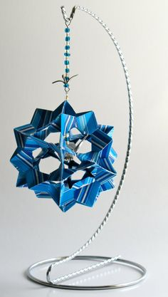 Ornament Decoration Home Décor 3D Modular Origami by BoldFolds
